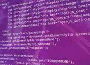 Diseñador programador html css javascript flash php