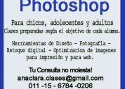 Clases particulares de photoshop!