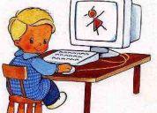 Clases de apoyo escolar en computacion