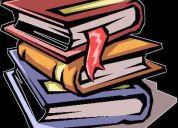 Clases de apoyo escolar - nivel primario y ecundario