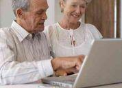 Clases de computación para mayores adultos