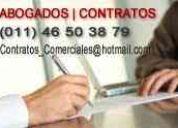 Abogados  especialistas en contratos de  compraventa inmobiliaria , locaciones de departam