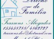 Abogados  familia  mar del plata dra. paula trassens  4862727  / 1554587