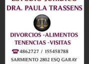 abogados   mar del plata  dcho de familia dra. trassens  4862727-155458788