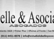abogados zona san miguel - especialistas en derecho laboral - abonos a su medida