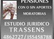 Jubilaciones  mar del plata  abogados est. jur. trassens