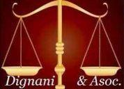 Dra. dignani y asoc. abogados de mar del plata, estudio juridico