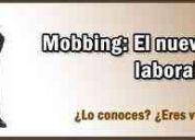 Mobbing laboral .estudio jurÍdico alinet.capital y provincia.