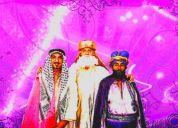 Contratar a los reyes magos melchor,gaspar y baltasar