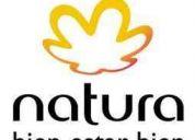 Natura cosméticos incorpora consultoras / vendedoras en todo el pais
