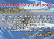 Comisionismo y transporte