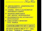 Duarte quiros nº 896 5º