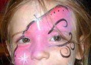 Maquillaje artistico body paint,mar del plata,gesell,pinamar,verano!