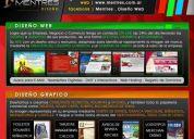 Diseño grafico y diseño web para empresas, comercios y particulares
