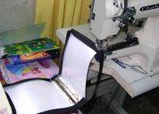 Se hacen trabajos de trensillado (con máquina trensilladora)