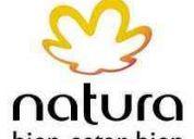 Natura cosmeticos de brasil, busca vendedores.