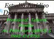 Derecho laboral, abogados, estudio juridico, 0223-474-2793