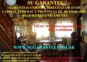 Garantias exclusivas para locales capital federal