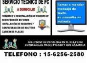 Servicio tecnico de computacion,pc,notebooks a domicilio en constitucion