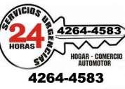 Servicio de cerrajeria lanus urgente las 24 horas 4-2644583~ hogares~autos~