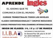 Aprenda y hable ingles - cursos en marzo