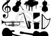 Clases de violín, piano y guitarra - zona vicente lópez