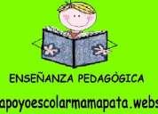Apoyo escolar pedagÒgico para niÑos con problemas de aprendizaje