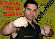 Centro argentino profesional autodefensa krav maga - instructor personal- defensa femenina