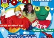 Animacion infantil chuchua amplia su staff