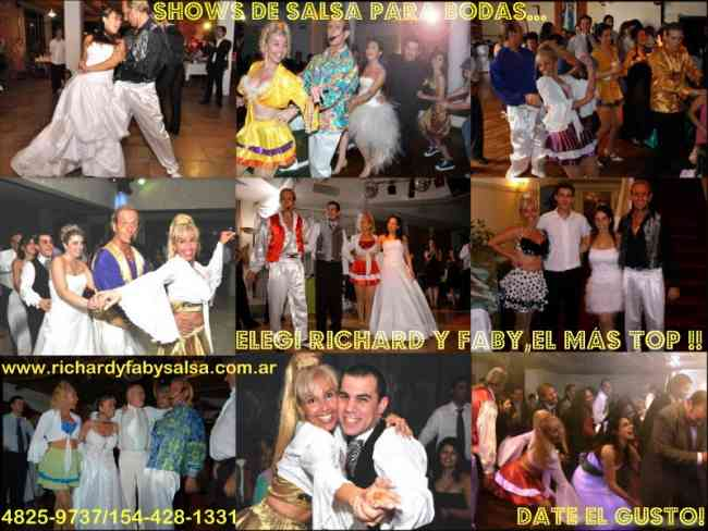 Pareja de Salsa, Shows para fiestas, Richard y Faby
