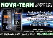 Servicio tecnico y reparacion de celulares zona oeste moron