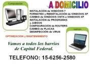 servicio tecnico de pc a domicilio en barracas