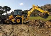 Demoliciones- excavaciones- constructora vial y de servicios