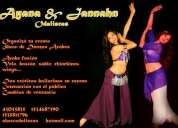 Show danza arabe  odaliscas ayana & jannahn  odaliscas  organizá