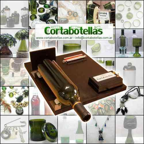 Cortadora de botellas de vidrio ideal artesanias for Cortador de vidrio