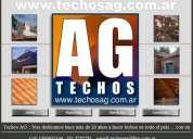 Techista zona norte 15-6093-3146 www.techosag.com.ar