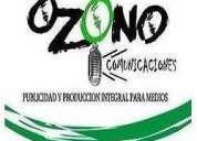 Ozono comunicaciones-publicidad y producción integral para medios
