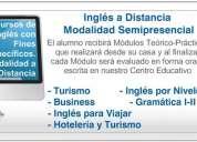 cursos de inglés presenciales y semipresenciales