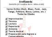 Clases de guitarra y música (centro de capital, gerli y avellaned