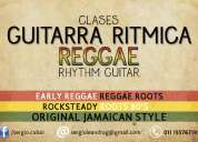 Clases guitarra ritmica reggae