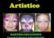 Cursos maquillaje artistico y peinados infantiles