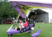 Cursos de vuelo en trike y vuelos de bautismo