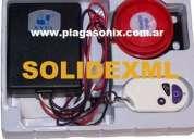 Solidexml alarma para moto pánico y vibración rf.