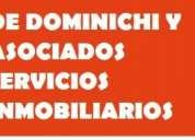 De dominichi vende terreno para construcción 10 x 35 mts