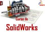 Curso de solidworks a domicilio - aprenda a diseñar en 3d