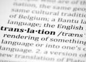 Traducciones inglés-español / español inglés rápidas y efectivas