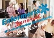 cuidado de personas y enfermeria a domicilio