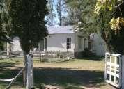 Casa quinta con pileta en saladillo sobre asfalto a 180 km de capital federal