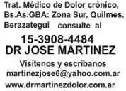 Servicio, medico dolor crónico-15-3908-4484-florencio varela,