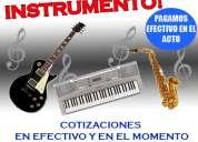 Compra venta instrumentos usados 4743-4034 pagamos mas y en el acto